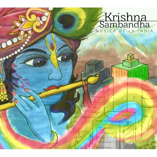 Krishna Samdandha - Musica de la India-500x500